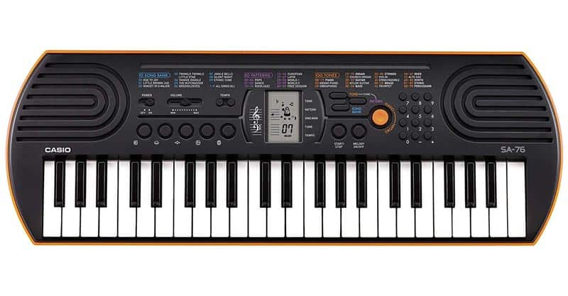 Casio SA-76 44 Key Mini Keyboard