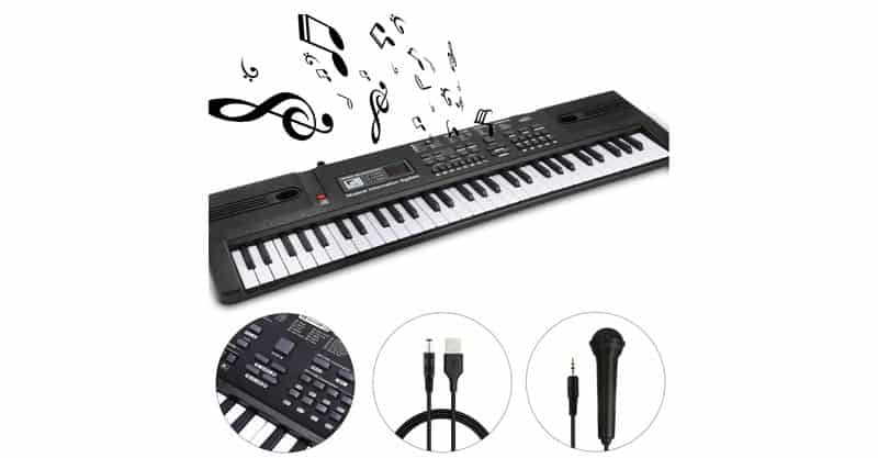 WOSTOO 61 Key Piano Keyboard