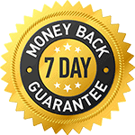 7 day money back guarantee 150px