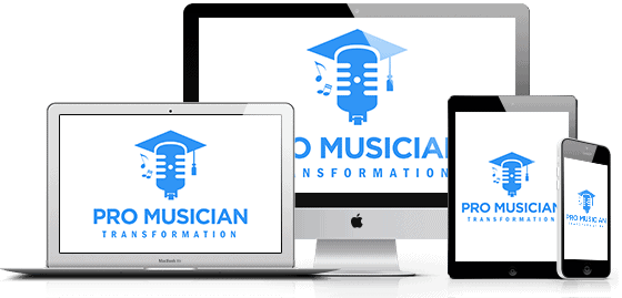 Pro Musician Transformation Course Mockup