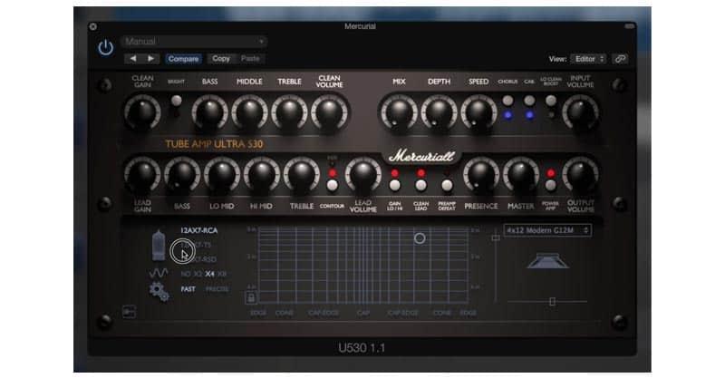 Mercuriall Tube Amp Ultra 530