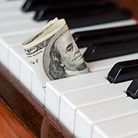 Gigs and fees for pianists
