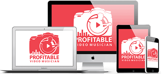 Profitable Video Musician Course 3D Mock Up