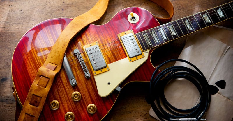 How To Put On An Electric Guitar Strap