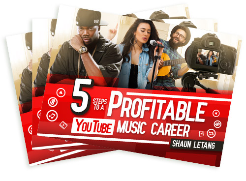 5 Steps To A Profitable Youtube Music Career - Free Ebook for musicians