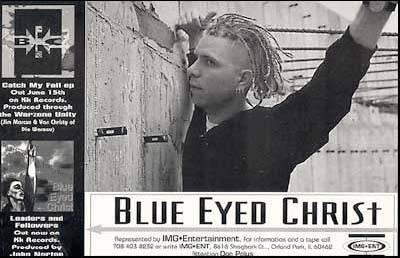 blue eyed christ