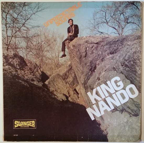 King Nando - Unpredictable Sounds - LP+CDR