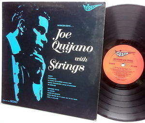 Joe Quijano  - Joe Quijano With Strings - Mono