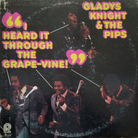 Gladys Knight & The Pips - Black Labels - I Heard It Through The Grapevine - LP