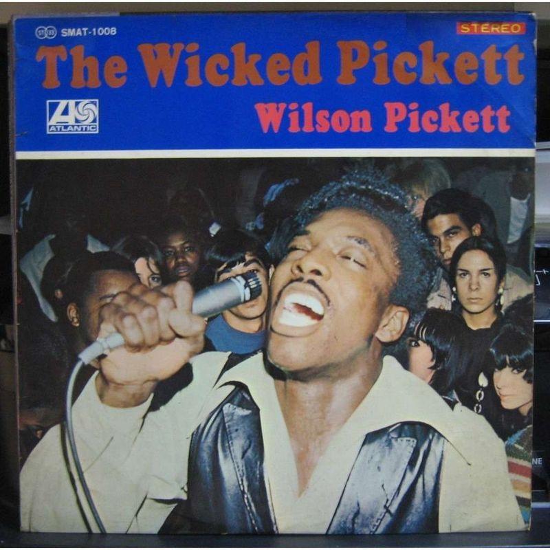 Wilson Pickett The Wicked Pickett Records Lps Vinyl And