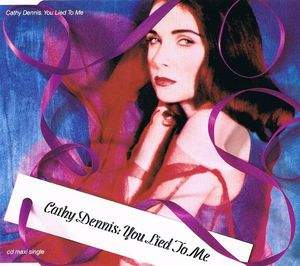 Cathy Dennis - You Lied To Me - CD Maxi Single