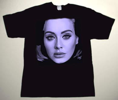 Adele - Adele Drawing 2 - T-Shirt