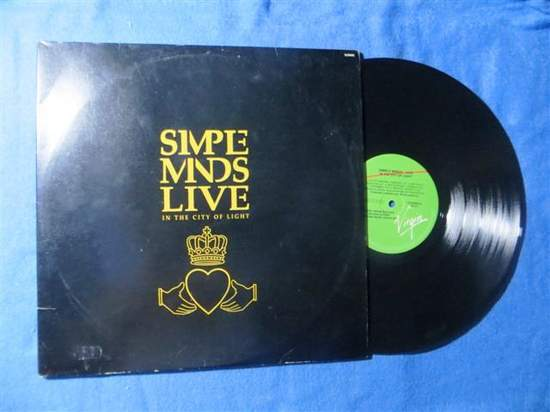 Simple Minds - Live In The City Of Light - 2LP