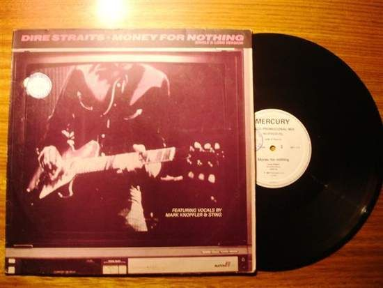 Dire Straits - Money For Nothing (promo)