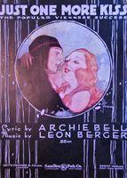 Bell/berger - Just One More Kiss - Sheet Music