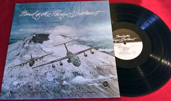 Usaf Band Of The Pacific Northwest - Usaf Band Of The Pacific Northwest Mchord Air Force Washington - LP