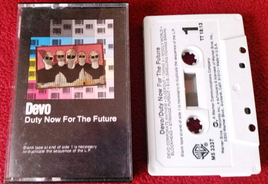 Devo - Duty Now For The Future - Cassette