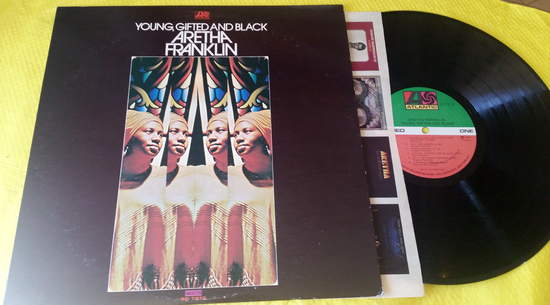 Aretha Franklin - Young Gifted & Black - LP