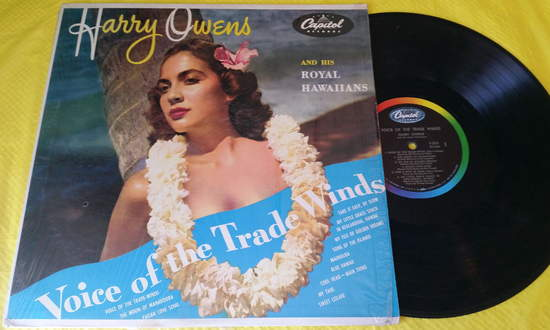 Harry Owens - Voice Of Ther Tradewinds - LP