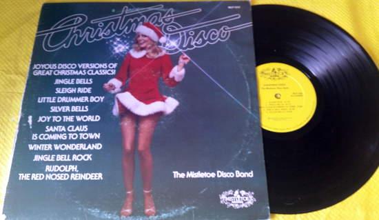 Mistletoe Disco Band - Christmas Disco - LP