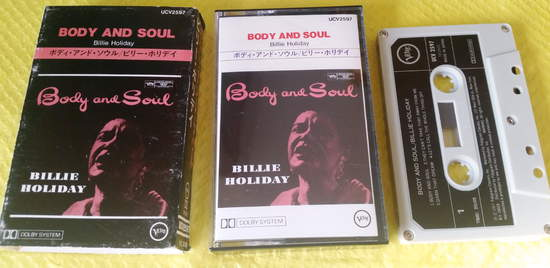 Billie Holiday - Body And Soul - Cassette