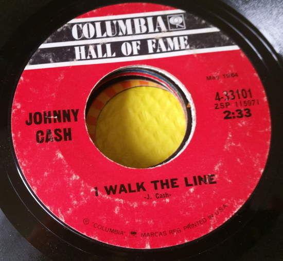 Johnny Cash - I Walk The Line/orange Blossom Special