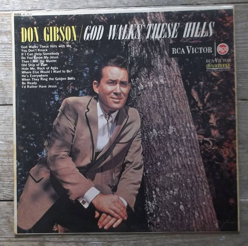Don Gibson - God Walks These Hills - LP