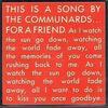 For A Friend - Communards