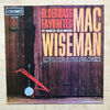 MAC WISEMAN - BLUEGRASS FAVOURITES