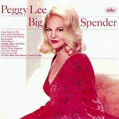 Peggy Lee - Big Spender - LP