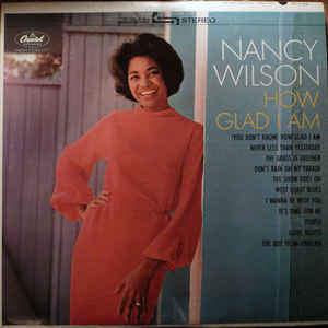 Nancy Wilson - How Glad I Am - LP