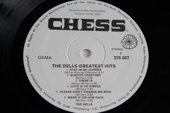 Dells - The Dells Greatest Hits - LP