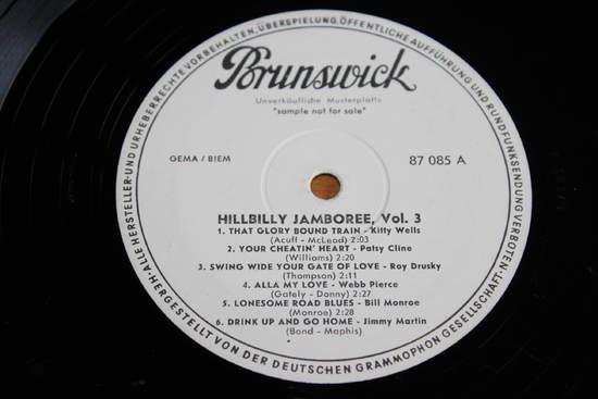 Hillbilly Jamboree - Volume 3 - LP