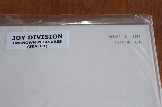 Joy Division - Unknown Pleasures - LP