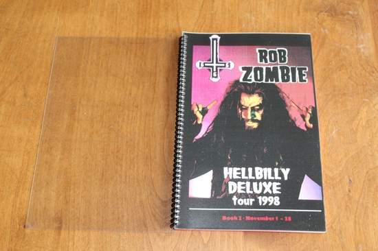 Rob Zombie - Hellbilly Deluxe Tour 1998 - Memorabilia