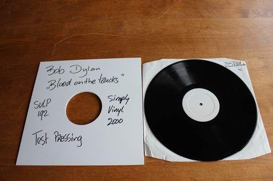 Bob Dylan - Blood On The Tracks Single
