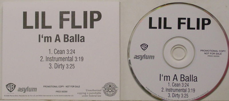 Lil Flip I'm A Balla Clean Records, LPs, Vinyl and CDs - MusicStack