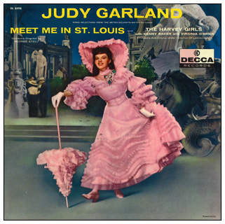 Judy Garland - Meet Me In St. Louis - LP