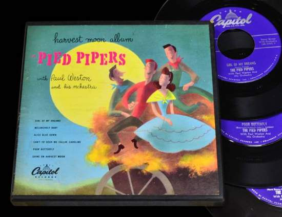 "Pied Pipers - Harvest Moon - 7"" Box Set"