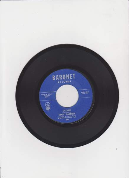 Parrish Troy - Laugh / Gloria - 7""