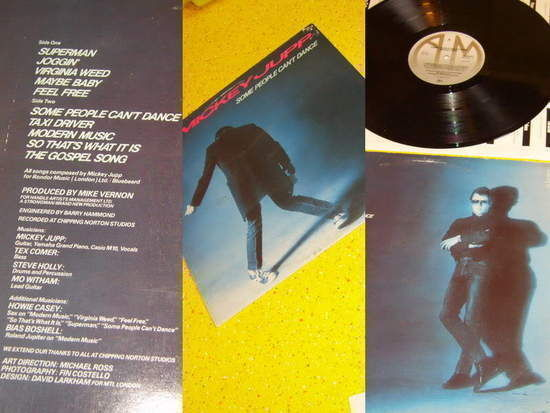 Mickey Jupp Some People Can't Dance Records, LPs, Vinyl and
