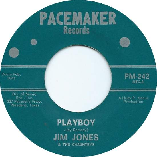 Jim Jones & The Chaunteys - Playboy - 45