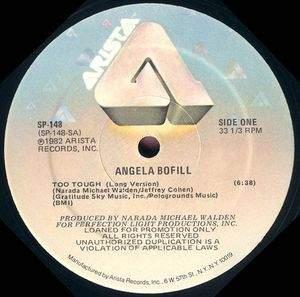 Angela Bofill - Too Tough CD