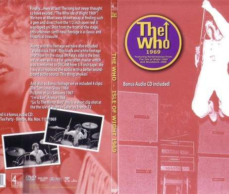 Who - 1969 - DVD