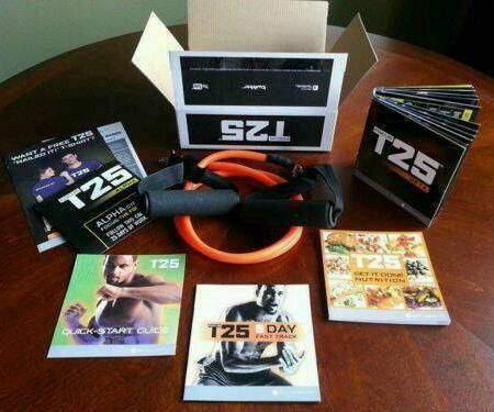 T25 - Shaun T's Focus T25 Kit - Dvd Workout - DVD Box Set