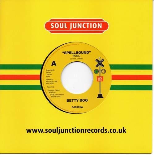 """Betty Boo - Spellbound / Spellbound (instrumental) - 7"""""""