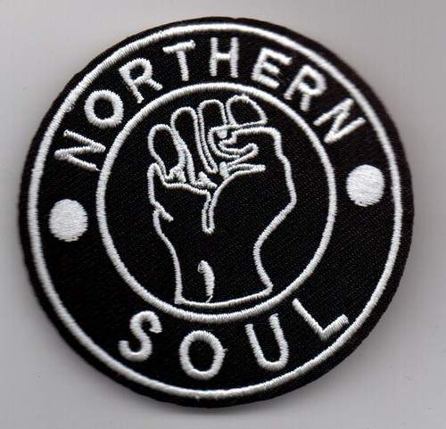 Northern Soul - (black) Sew On / Iron On Patch - Northern Soul -  (black) Sew On / Iron On Patch - Patch