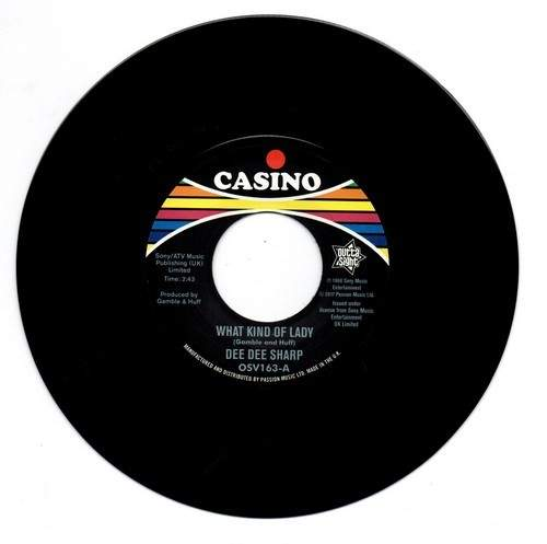 Dee Dee Sharp - What Kind Of Lady / The Bottle Or Me - 7""