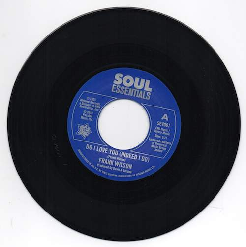 """Frank Wilson - Do I Love You (indeed I Do) / Sweeter As The Days Go By - 7"""""""
