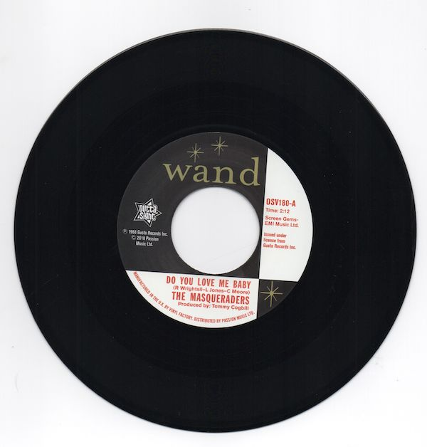 Masqueraders / Gentlemen Four - Do You Love Me Baby / You Can't Keep A Good Man Down - 7""